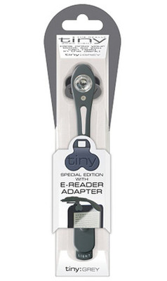 If Really Tiny Book Light- Grey With E-Reader Adaptor 2806