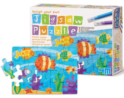 4M Design Your Own Jigsaw Puzzle/ Kendin Yap Puzzle - 4636