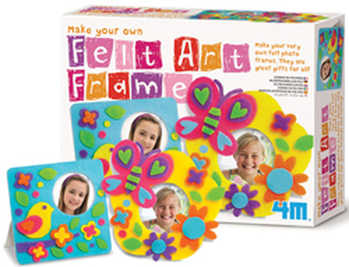 4M Make Your Own Felt Art Frame/ Keçe Sanati Çerçeve - 4638