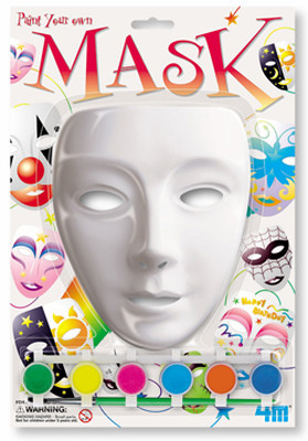 4M Paint Your Own Mask / Maskeli Boyama - 3331