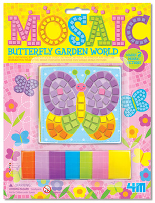 4M Mosaic Butterfly Garden World/ Mini Kelebek Mozaik - 3634
