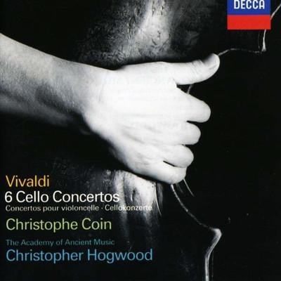 Vivaldi: 6 Cello Concertos [Christopher Hogwood]