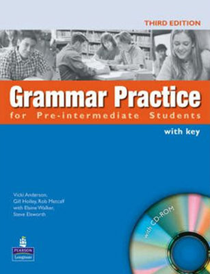 Grammar Prac.For Pre-Int.Book&Cd-Rom (Withkey)