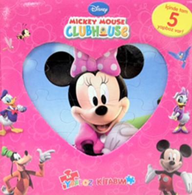 Disney Minik Fare'nin Kulüp Evi-Minnie İlk Yapboz Kitabım
