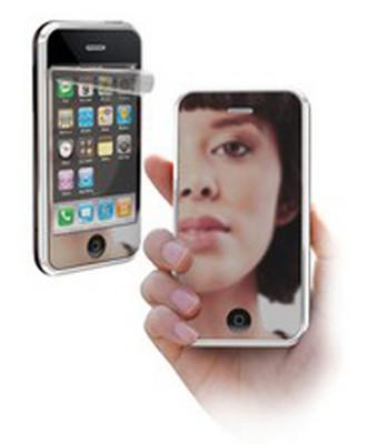 Cellular Line iPhone 4 Aynalı Ekran Koruyucu