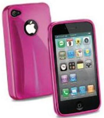 Cellular Line iPhone 4 Shocking Kauçuk Kılıf Pembe