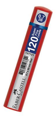 Faber-Castell Grip Min 0.7 2B 60Mm, 120 Li Kirmizi Tüp  - 5090127721