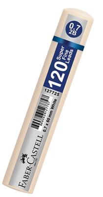 Faber-Castell Grip Min 0.7 mm 120'li Tüp Beyaz 127725