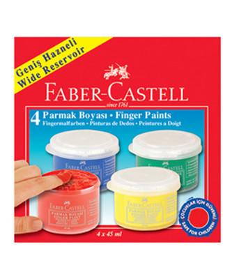Faber-Castell Parmak Boyasi 45 Ml. 4 Renk - 5170160412