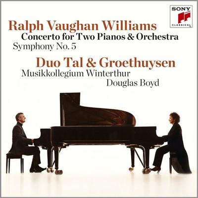 Vaughan-Williams: Concerto for 2 Pianos & Orc./ Sym No 5