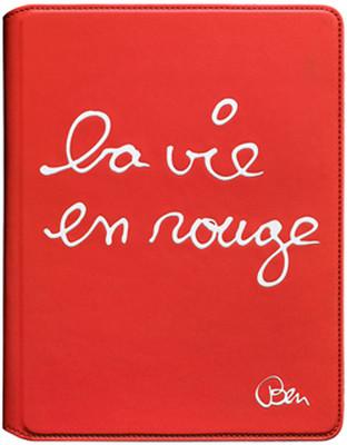 "Case Scenario Smiley iPad2 Kılıfı ""La Vie En Rouge"""