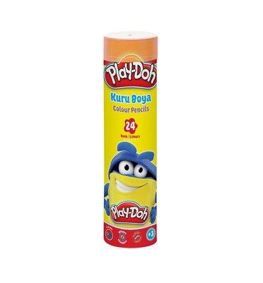 Play-Doh 24 Renk Kuru Boya Tüp PLAY-KU007