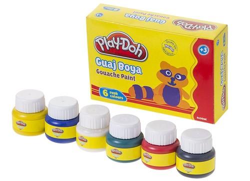 Play-Doh 6 Renk Guaj Boya 30ml PLAY-GU001