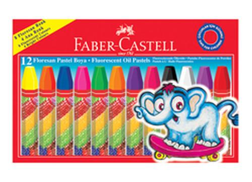 Faber-Castell Floresan Pastel Boya,12 Renk - 5281125011