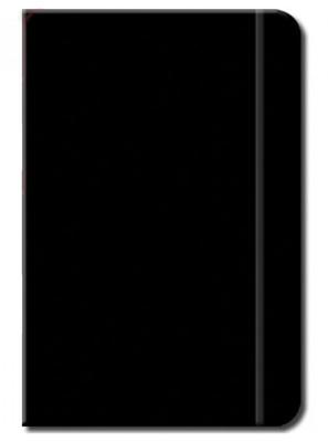 Deffter 16X22,5 Lastikli Siyah Defter / Kara Defter 64093-5