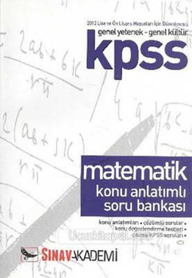 Sınav Kpss Matematik Konu Anlatımlı Soru Bankası Önlisans