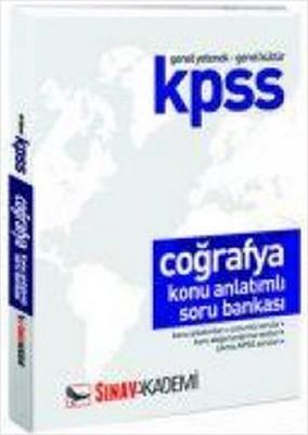 Sınav Kpss Coğrafya Konu Anlatımlı Soru Bankası Önlisans