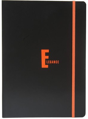 Elegance Defter Ciltli Lastikli A4 80 Yaprak Çizgili 2012114/1