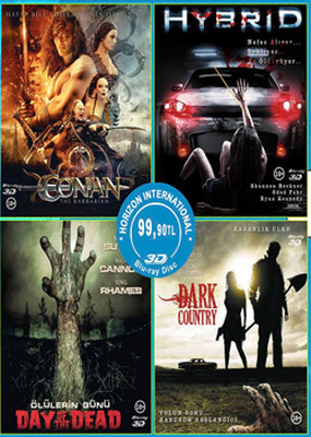 Fanatik 3D Blu-Ray Box Set - 4 Film Özel Set