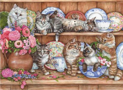 Anatolian Yavru Kediler / Kittens 1000 Parça Puzzle - 3158