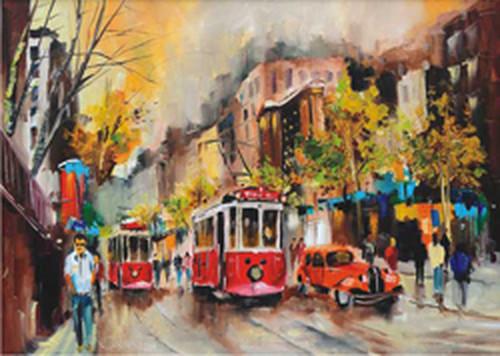 Anatolian Tramvay Yolu / Way Of Tram 1500 Parça Puzzle - 4515