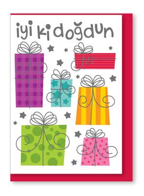 Big Bk 29 İyi Ki Doğdun Zarf ve Kart