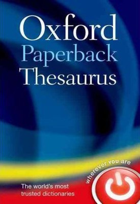 Oxford Paperback Thesaurus 4/e