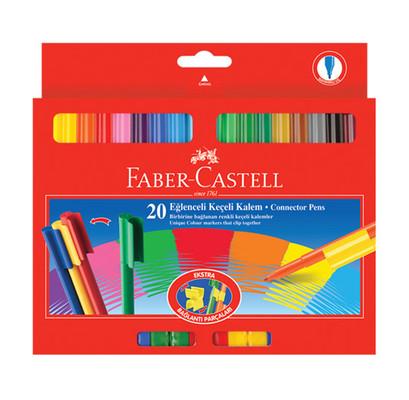 Faber-Castell 112000 20'li Eğlenceli Keçeli Kalem