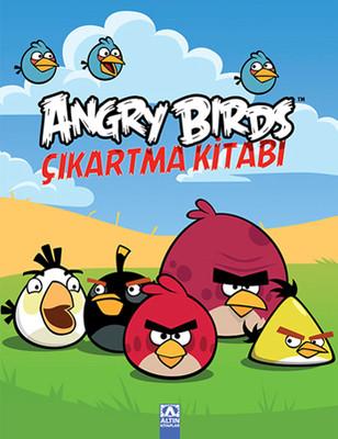 Angry Birds Çıkartma Kitabı - 2