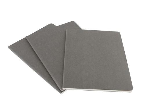 Moleskine X-large Cahier Ruled Notebook - Çizgili Defter Gri