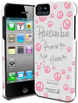 """WIT WAS IP5 TKP03 iPhone 5 Kilifi """"Katy Perry"""" Beyaz"""