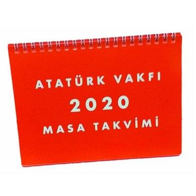 Atatürk Vakfı 2020 Masa Takvimi