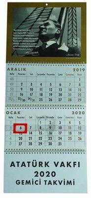 Atatürk Vakfi 2020 Gemici Takvimi, N/A