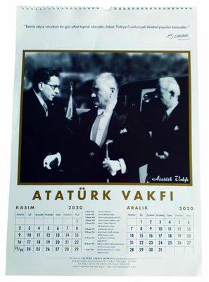 Atatürk Vakfi 2020 Duvar Takvimi, N/A