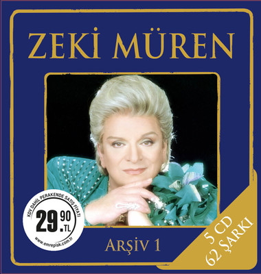Zeki Müren Arsiv 1 5 CD BOX SET