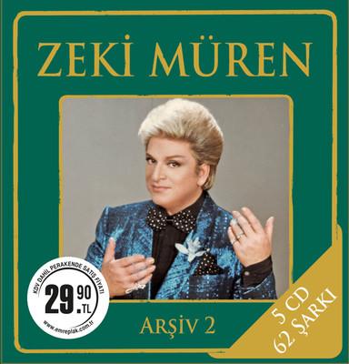 Zeki Müren Arsiv 2 5 CD BOX SET