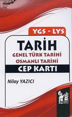 Altınpost YGS-LYS Tarih Genel Türk Tarihi Osmanlı Tarihi Cep Kartı