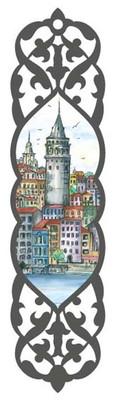 Galeri Alfa 2010102 Galata Kulesi - Istanbul Serisi Kitap Ayraci Renkli
