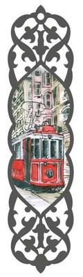 Galeri Alfa 2010302 Taksim Tramvay - Istanbul Serisi Kitap Ayraci Renkli