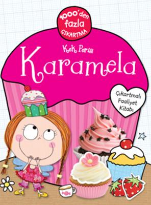 Kek Perisi Karamela Çıkartmalı Faaliyet Kitabı