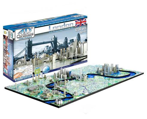 4D Cityscape LONDON Puzzle