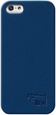 Case Scenerio Keith Haring iPhone 5 Embossed Kılıf Dog Blue KH-IPH5-DBLU