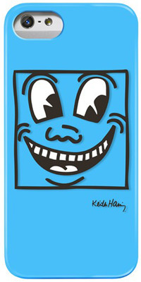 Case Scenerio Keith Haring iPhone 5 Layered Kılıf Eyes KH-IPH5-EY