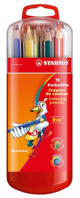Stabilo Trio Kalin Zebrui 15'Li Askili 203/11-15