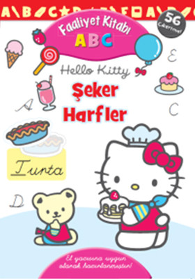 Hello Kitty ABC Şeker Harfler Faaliyet Kitabı