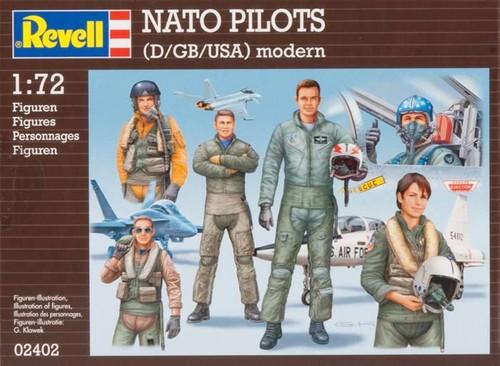 Revell Figures Nato Pilotlari 2402
