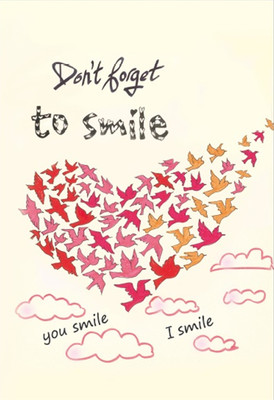 Galeri Alfa 3090002 Don't Forget to Smile Defter 14x20 cm.