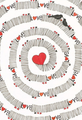 Galeri Alfa 3090004 Endless Love Defter 14x20 cm.