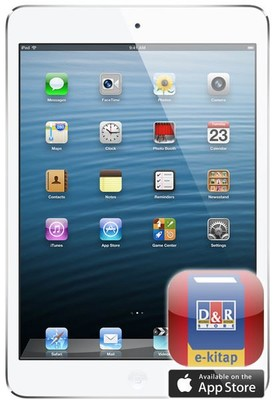 Apple iPad mini 32GB WiFi White MD532TU/A      (8 Adet Ekitap Hediye)