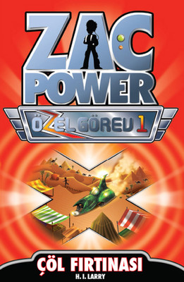 Zac Power Özel Görev 1 - Çöl Fırtınası